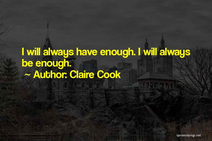 Claire Cook Quotes 980230