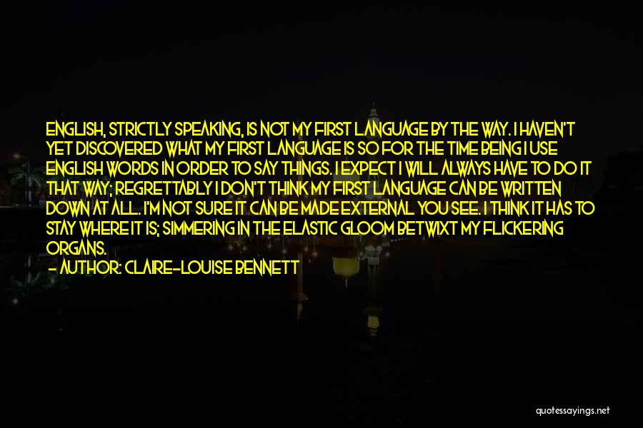 Claire-Louise Bennett Quotes 2236504
