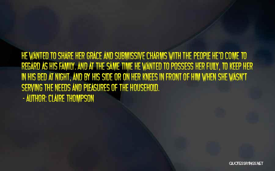 Claire Thompson Quotes 1011088