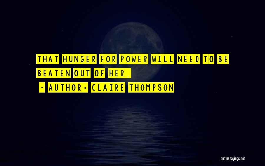 Claire Thompson Quotes 1220004