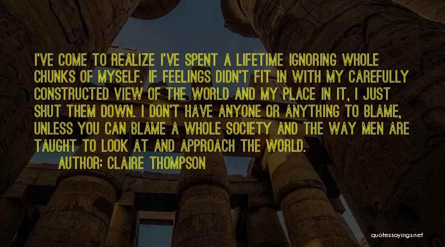 Claire Thompson Quotes 1422400