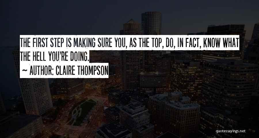 Claire Thompson Quotes 1517559