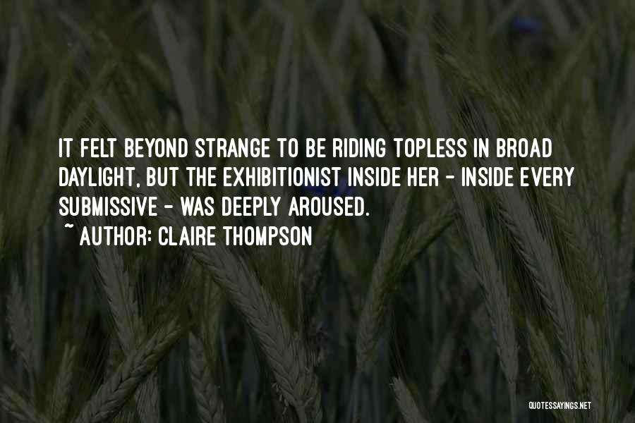 Claire Thompson Quotes 487757