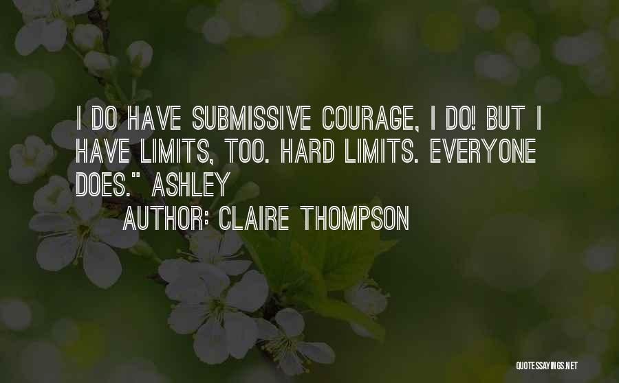 Claire Thompson Quotes 894113