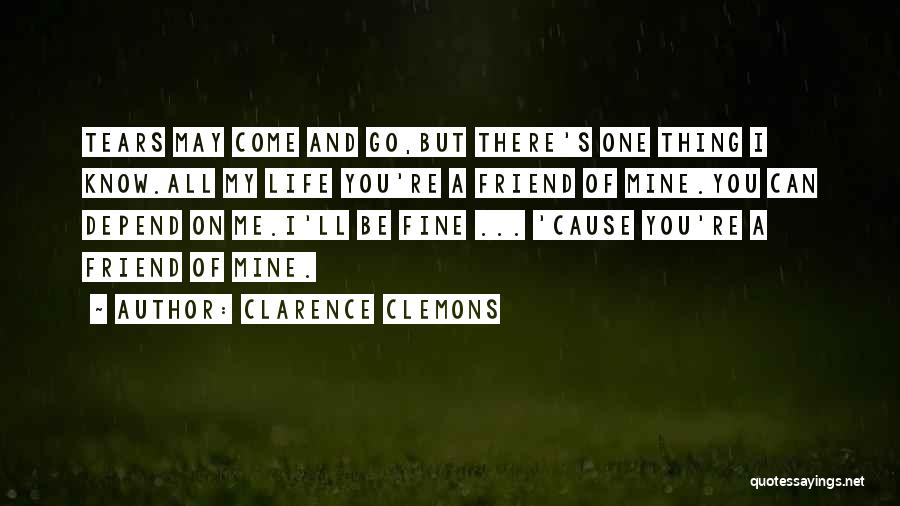 Clarence Clemons Quotes 1416675