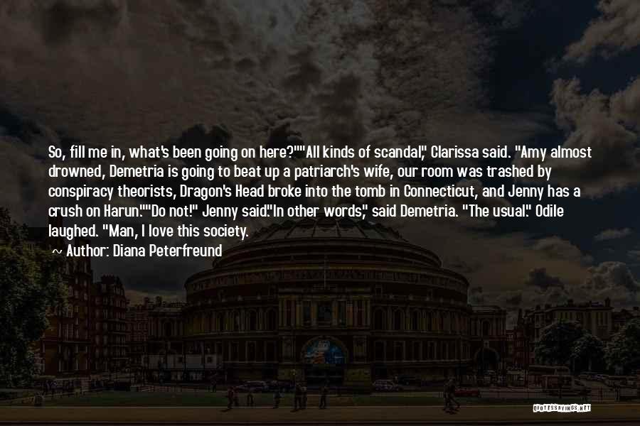 Clarissa Quotes By Diana Peterfreund