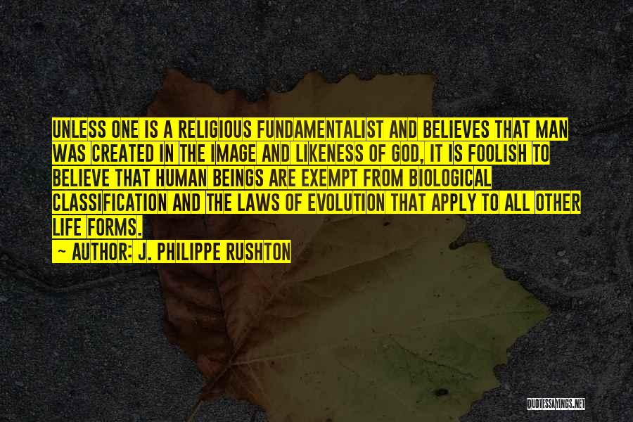 Classification Quotes By J. Philippe Rushton