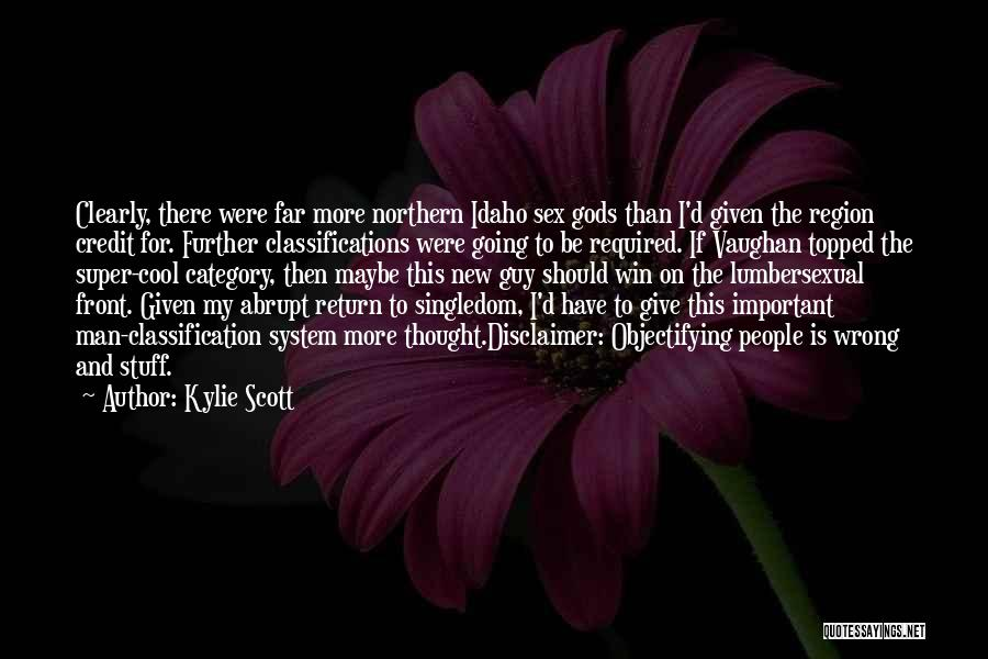 Classification Quotes By Kylie Scott