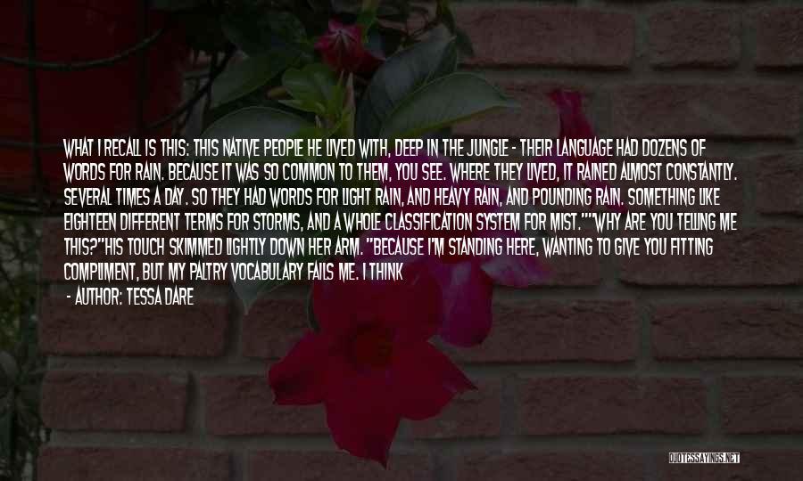 Classification Quotes By Tessa Dare