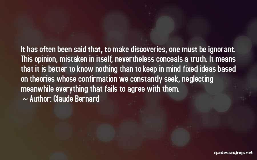 Claude Bernard Quotes 1026287