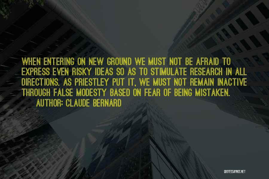 Claude Bernard Quotes 1111918