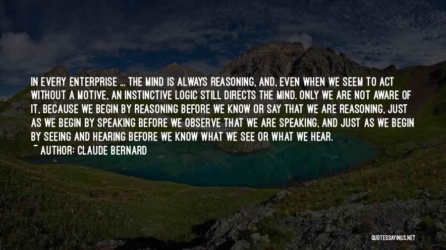 Claude Bernard Quotes 117401