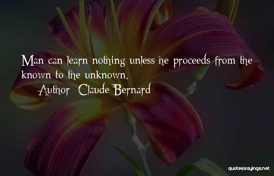 Claude Bernard Quotes 1209917