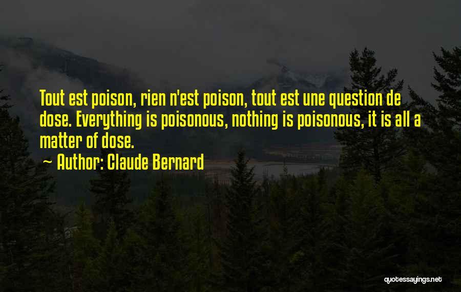 Claude Bernard Quotes 1452326