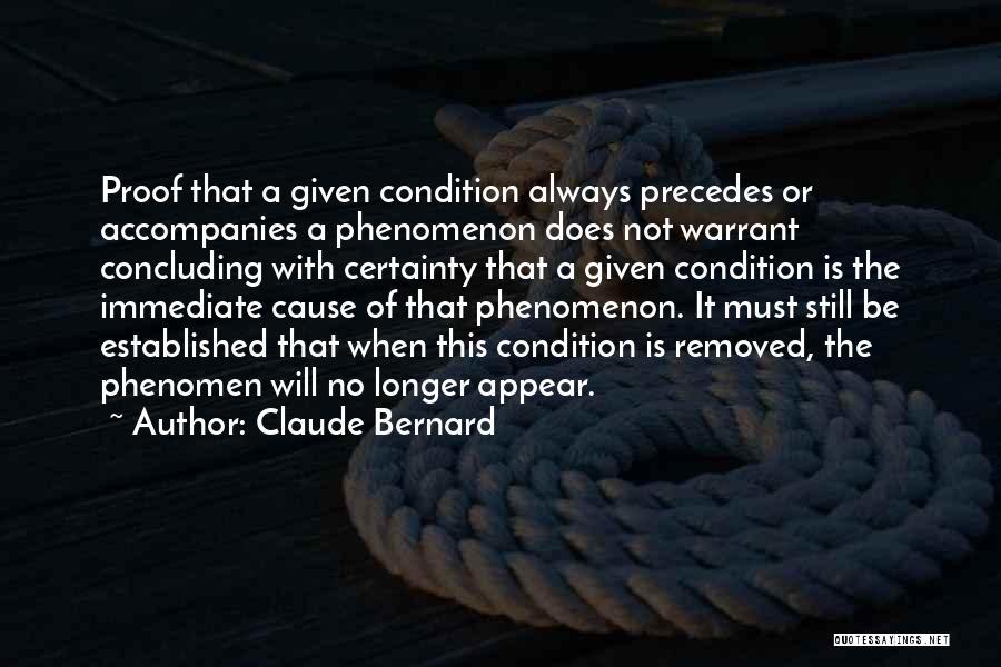 Claude Bernard Quotes 1815087