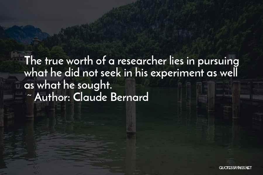 Claude Bernard Quotes 2053293