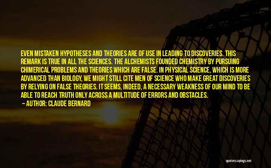 Claude Bernard Quotes 279078