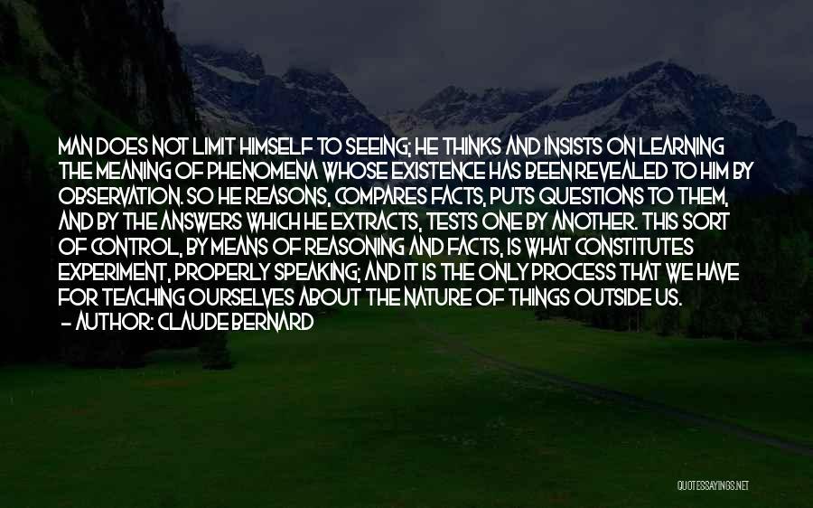 Claude Bernard Quotes 484643