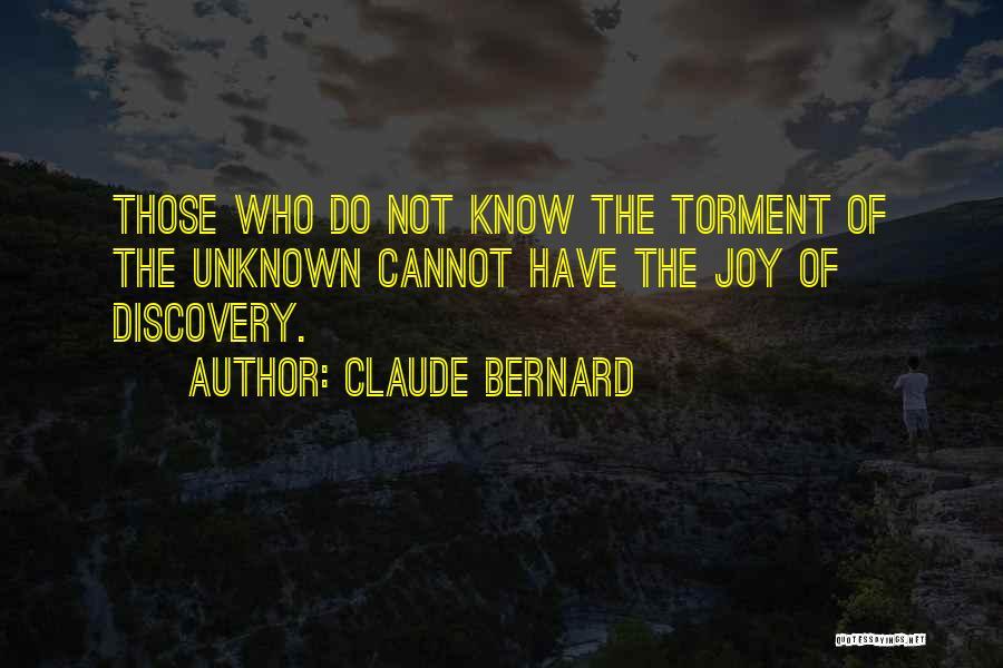 Claude Bernard Quotes 510536