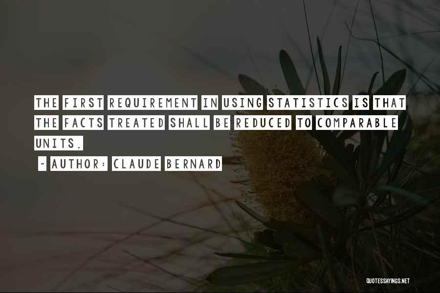 Claude Bernard Quotes 552037