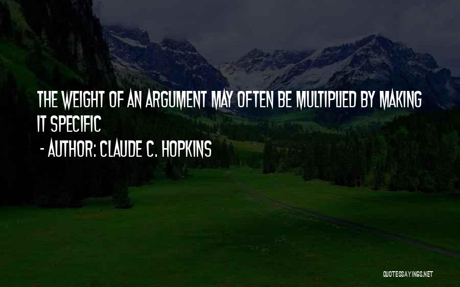 Claude C. Hopkins Quotes 1348861