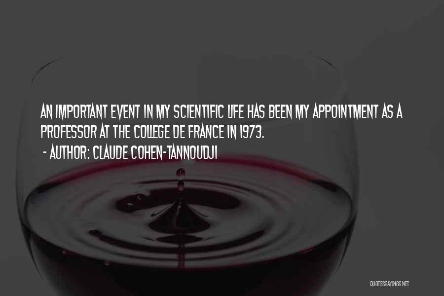 Claude Cohen-Tannoudji Quotes 1616111