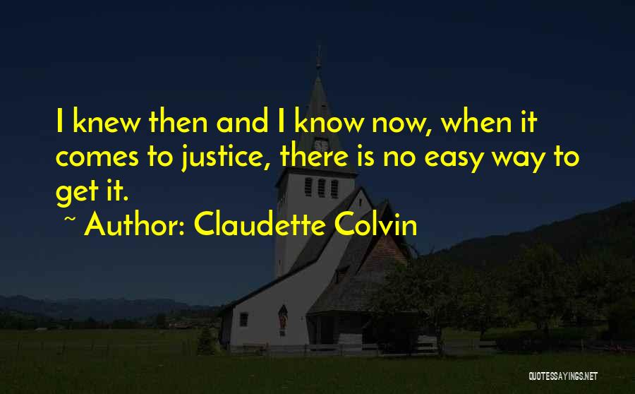 Claudette Colvin Quotes 148386