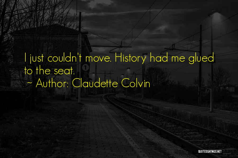 Claudette Colvin Quotes 457010
