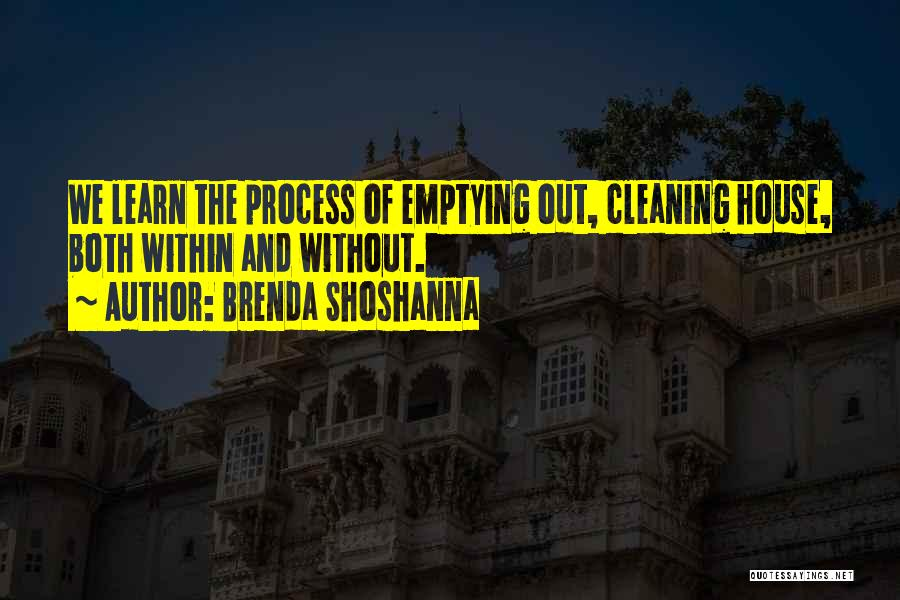 Cleaning The House Quotes By Brenda Shoshanna
