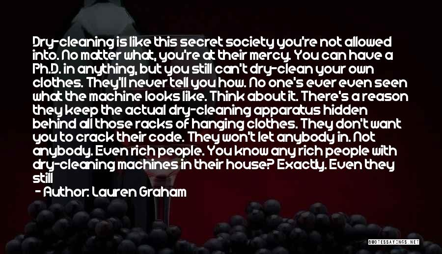 Cleaning The House Quotes By Lauren Graham