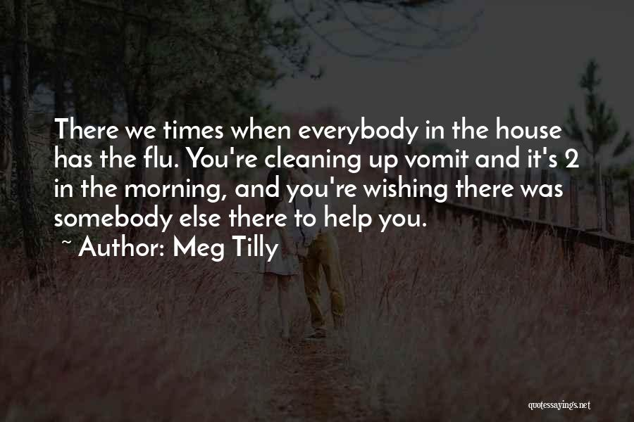 Cleaning The House Quotes By Meg Tilly