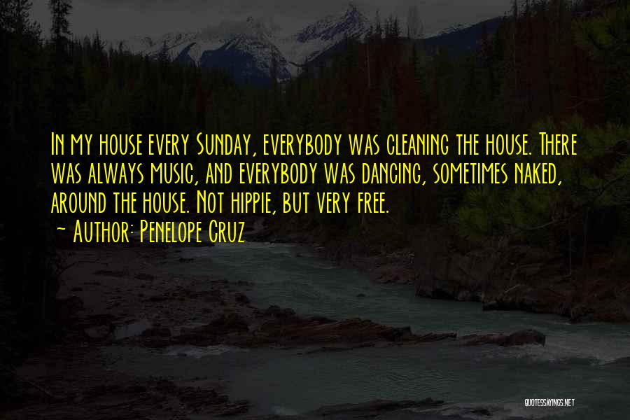 Cleaning The House Quotes By Penelope Cruz