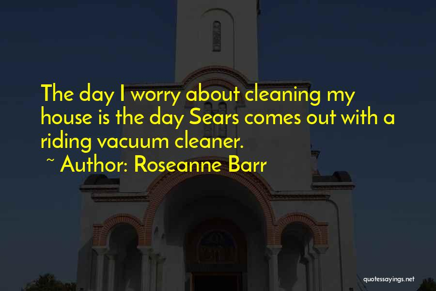 Cleaning The House Quotes By Roseanne Barr