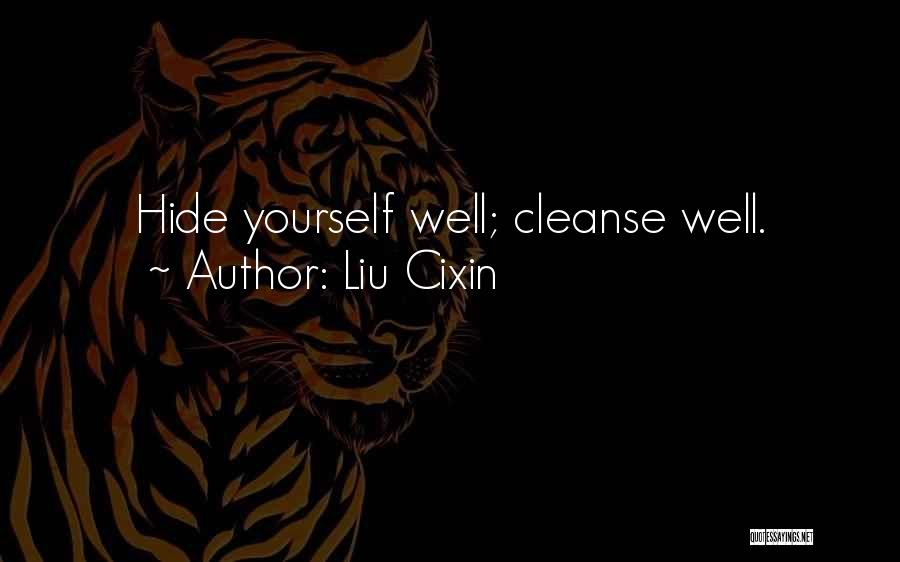 Cleanse Yourself Quotes By Liu Cixin