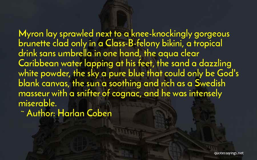 Clear Blue Sky Quotes By Harlan Coben