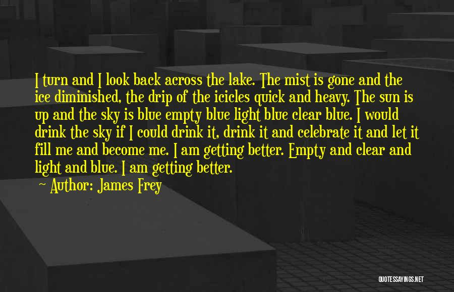 Clear Blue Sky Quotes By James Frey