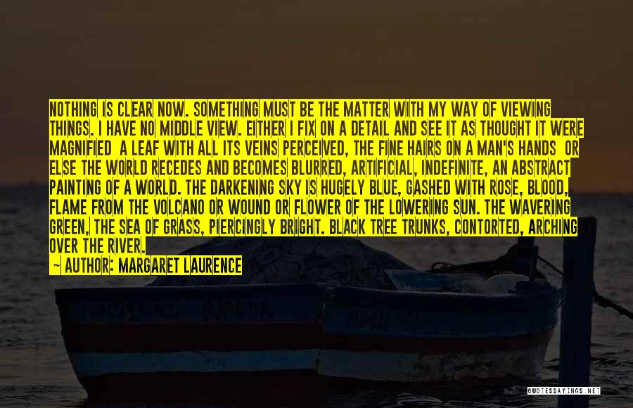 Clear Blue Sky Quotes By Margaret Laurence