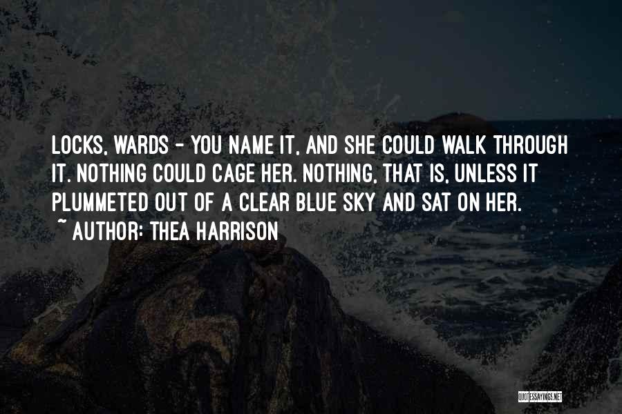 Clear Blue Sky Quotes By Thea Harrison