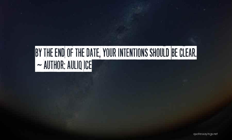 Clear Goals Quotes By Auliq Ice