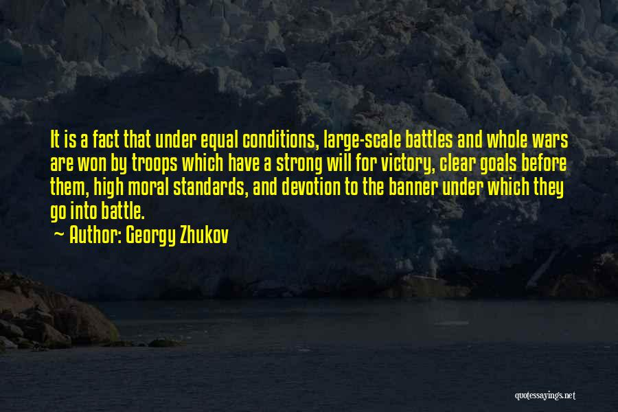 Clear Goals Quotes By Georgy Zhukov