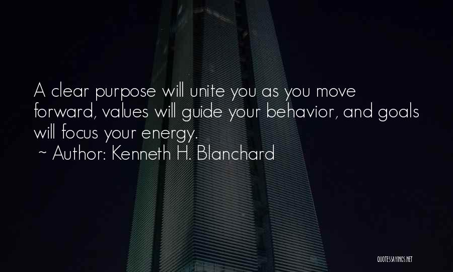 Clear Goals Quotes By Kenneth H. Blanchard