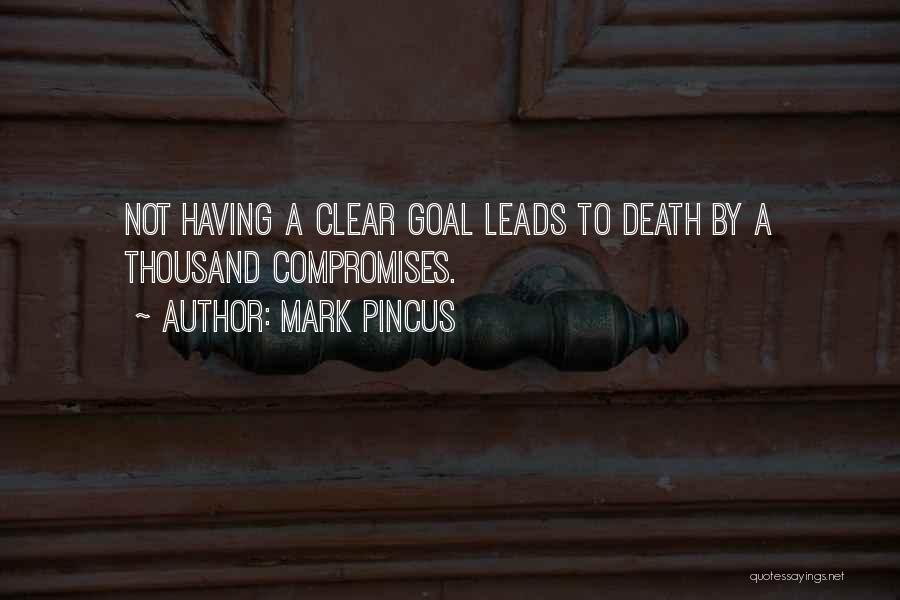 Clear Goals Quotes By Mark Pincus