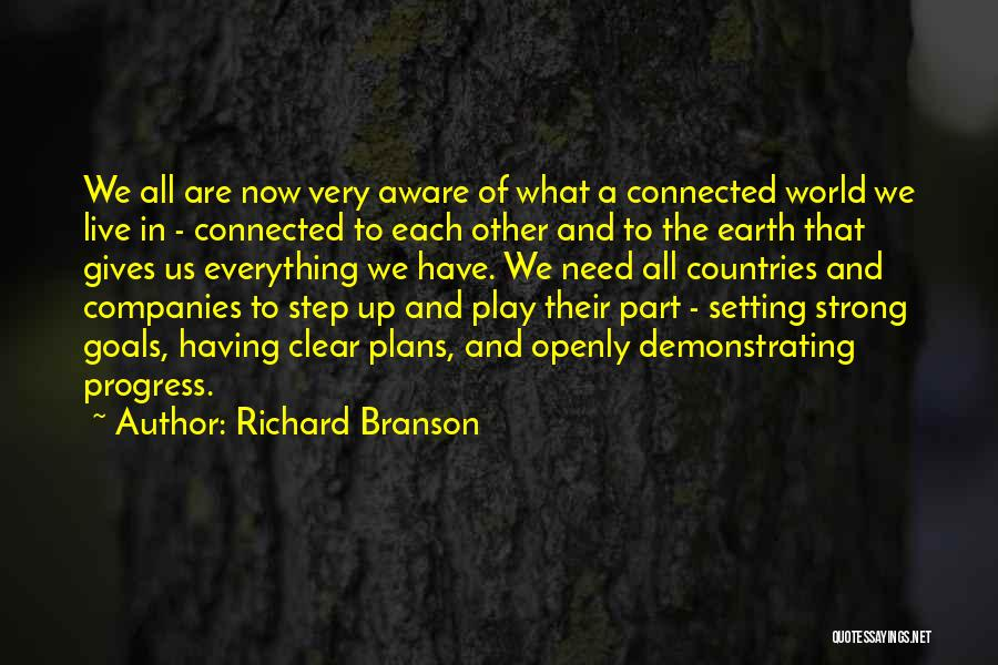 Clear Goals Quotes By Richard Branson