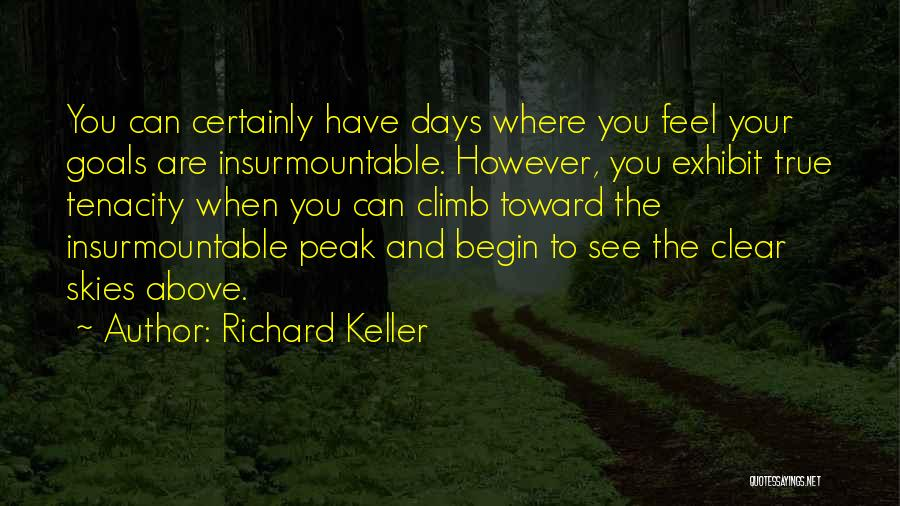 Clear Goals Quotes By Richard Keller