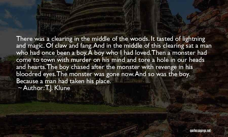 Clearing The Mind Quotes By T.J. Klune