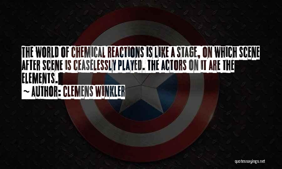 Clemens Winkler Quotes 2217853
