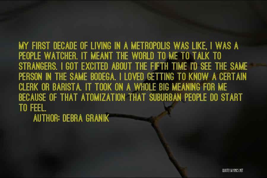 Clerk Quotes By Debra Granik