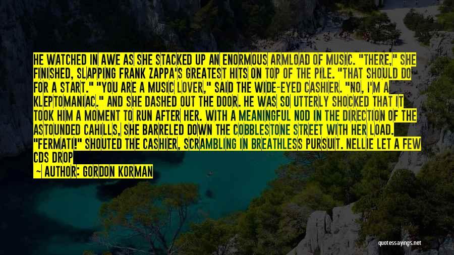 Clerk Quotes By Gordon Korman