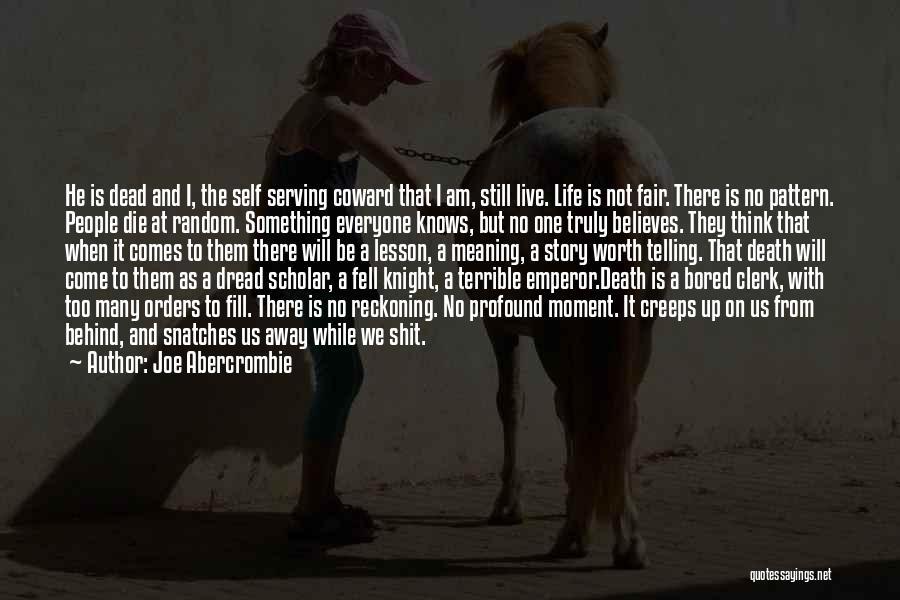 Clerk Quotes By Joe Abercrombie