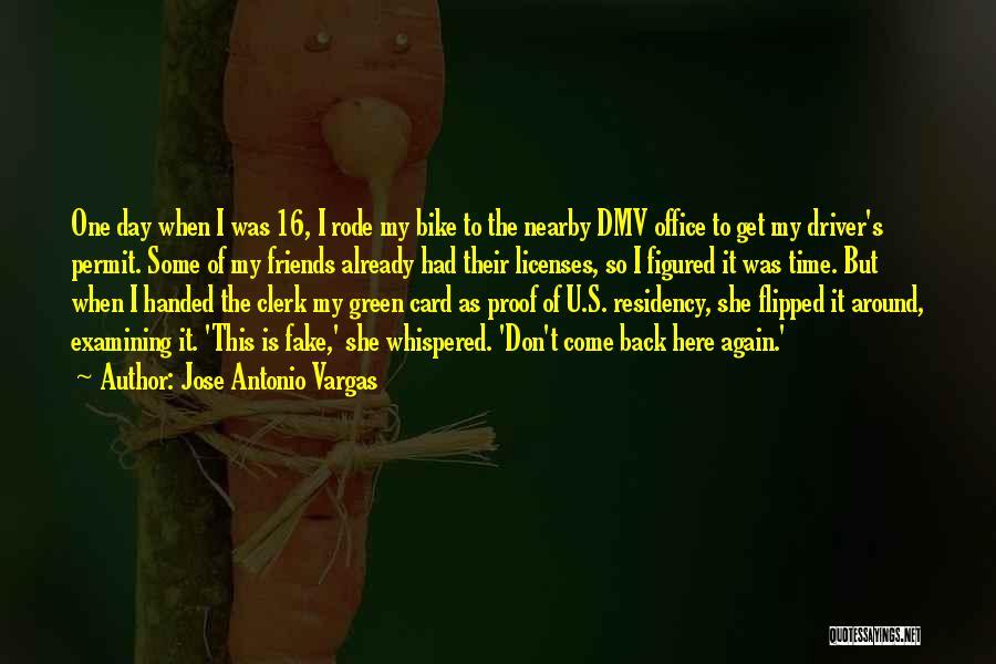Clerk Quotes By Jose Antonio Vargas